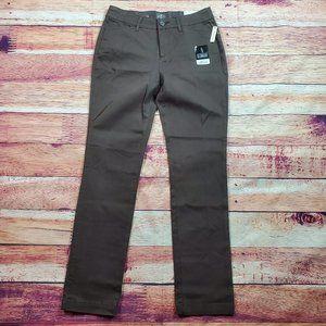 St. John's Bay Trouser Straight Leg Pants Size 4